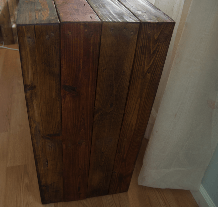 Reclaimed Pine Tv Stand