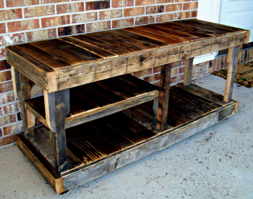 Reclaimed Wood Tv Stand Canada