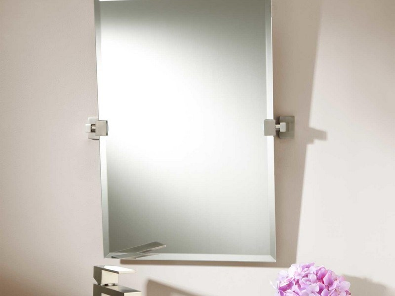 Rectangular Pivot Bathroom Mirror