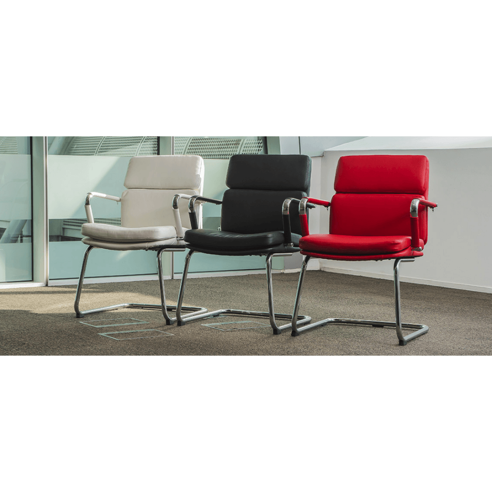 Red Leather Office Chairs Uk