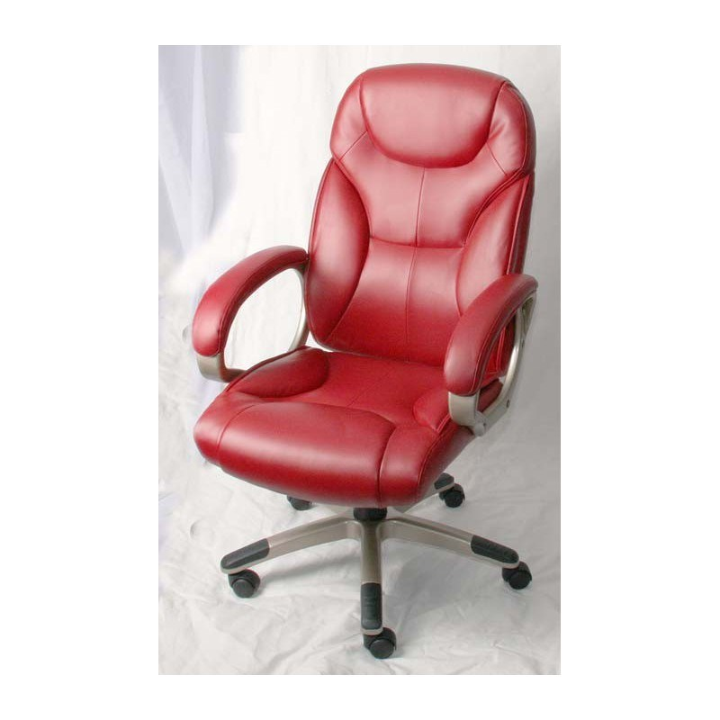 Red Leather Office Chairs