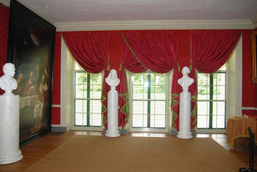 Red Valance Curtains