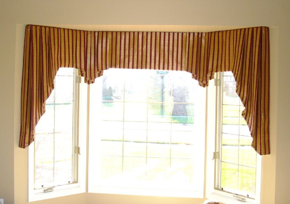 Red Valances For Windows