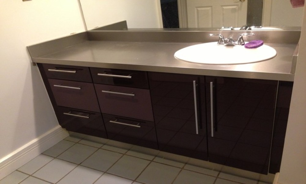 Reface Bathroom Cabinets