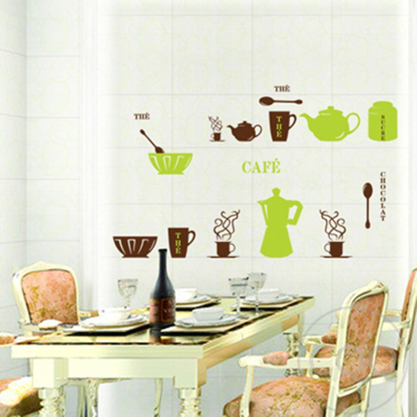 Retro Kitchen Wall Decals