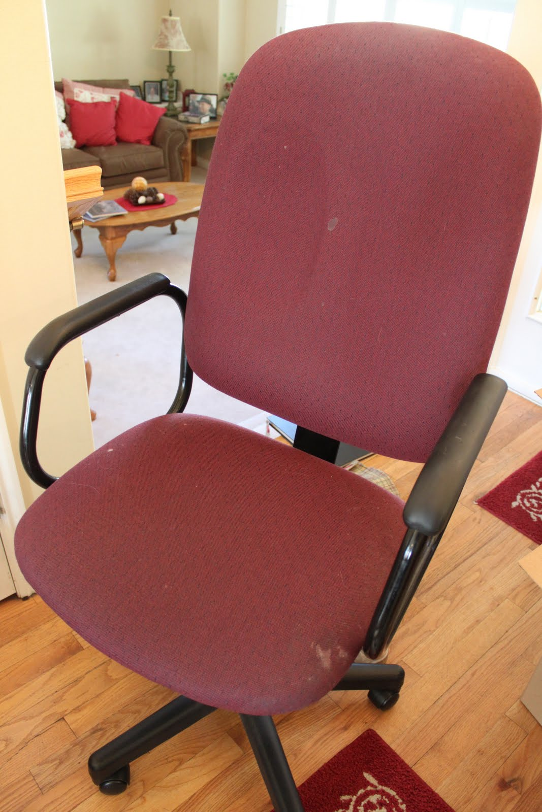 Reupholster Office Chair Diy