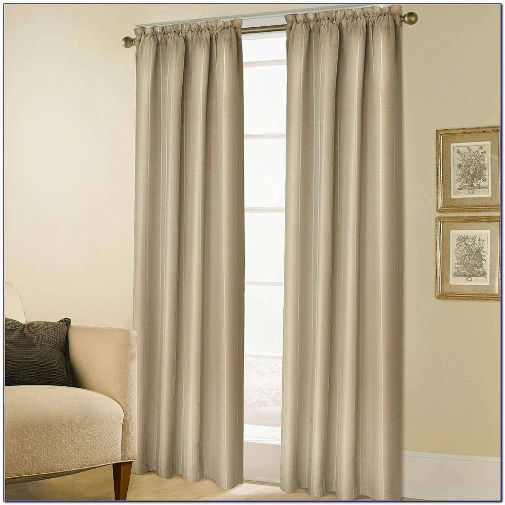 Rod Pocket Valance Curtains