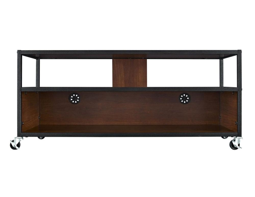 Rolling Tv Stand Wood