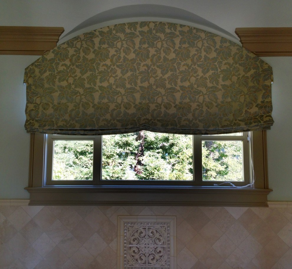 Roman Shade Valance Ideas