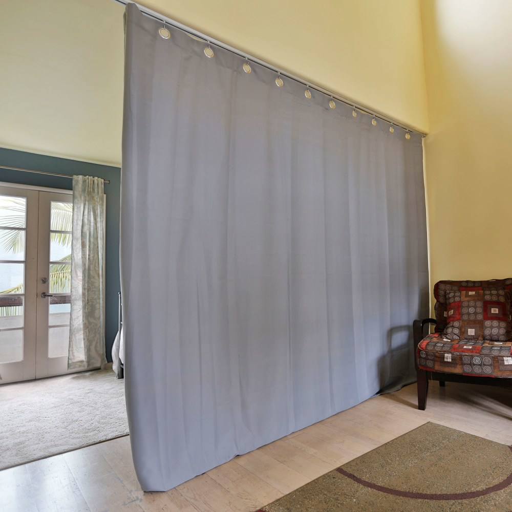 Room Divider Curtain Track