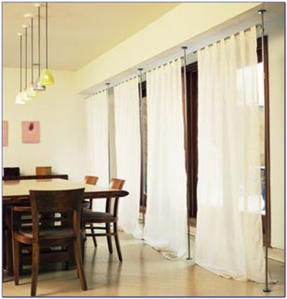 Room Divider Curtains Ceiling