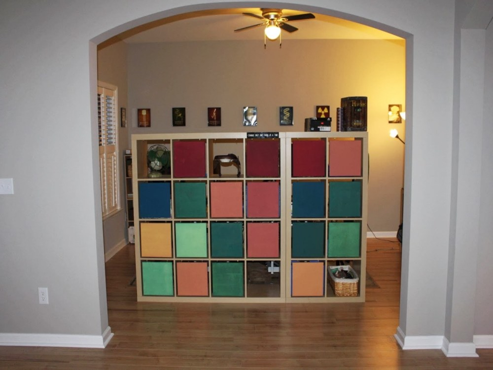 Room Divider Ikea Hack