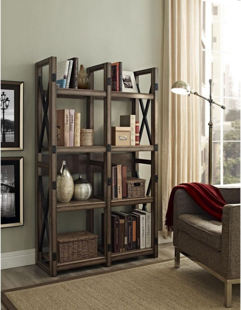 Room Divider Shelves Wood