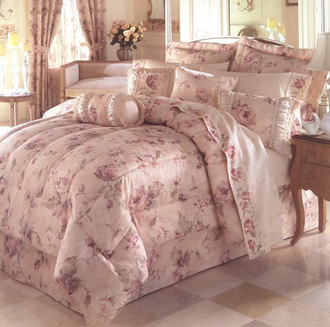 Rose Comforter Set King