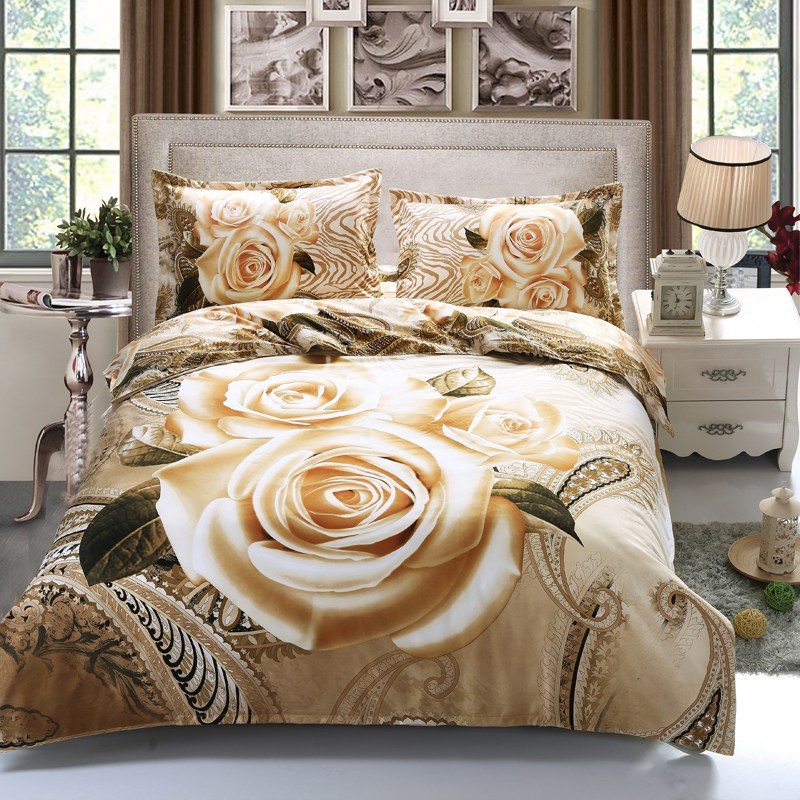 Rose Gold Comforter Set