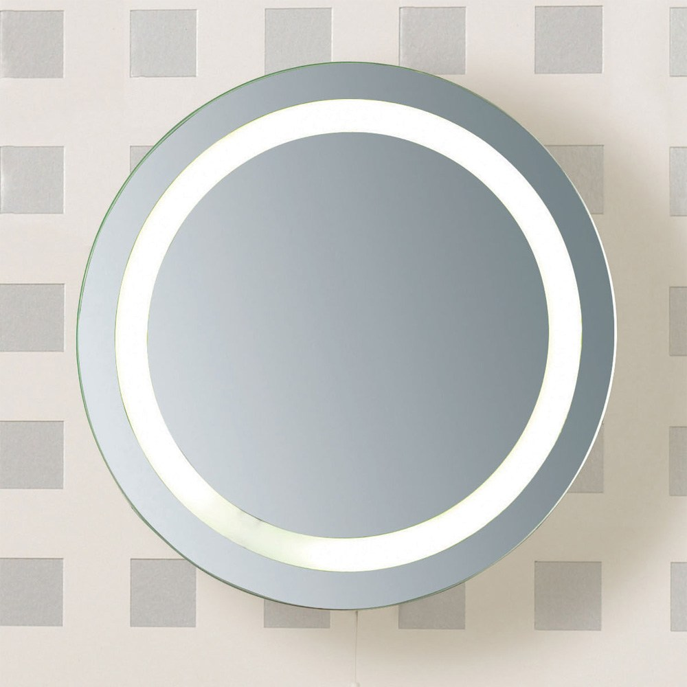 Round Bathroom Mirror With Lights