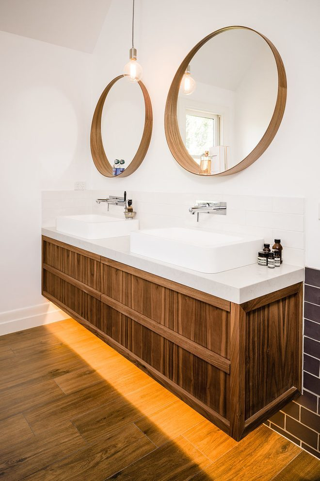 Round Mirror Bathroom