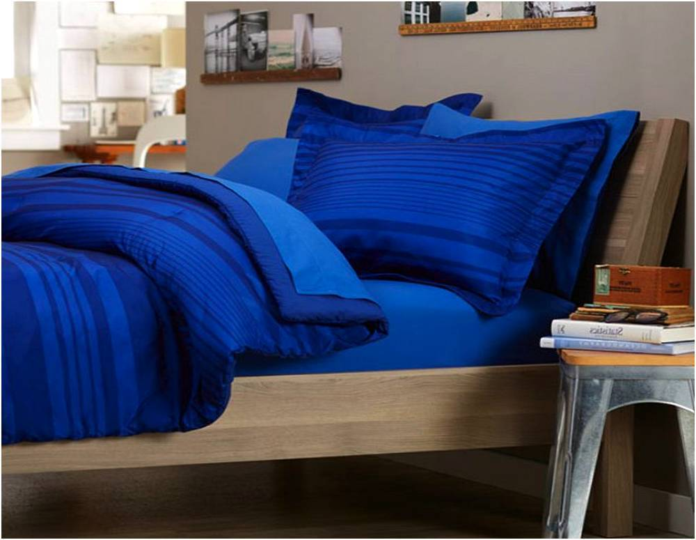 Royal Blue Comforter Set Full
