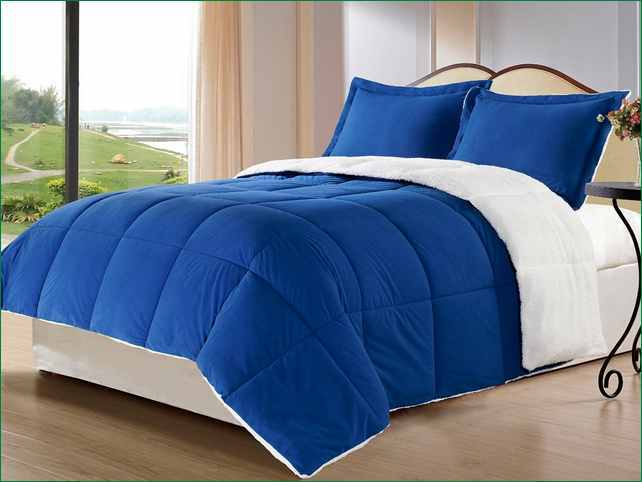 Royal Blue Comforter Set Queen