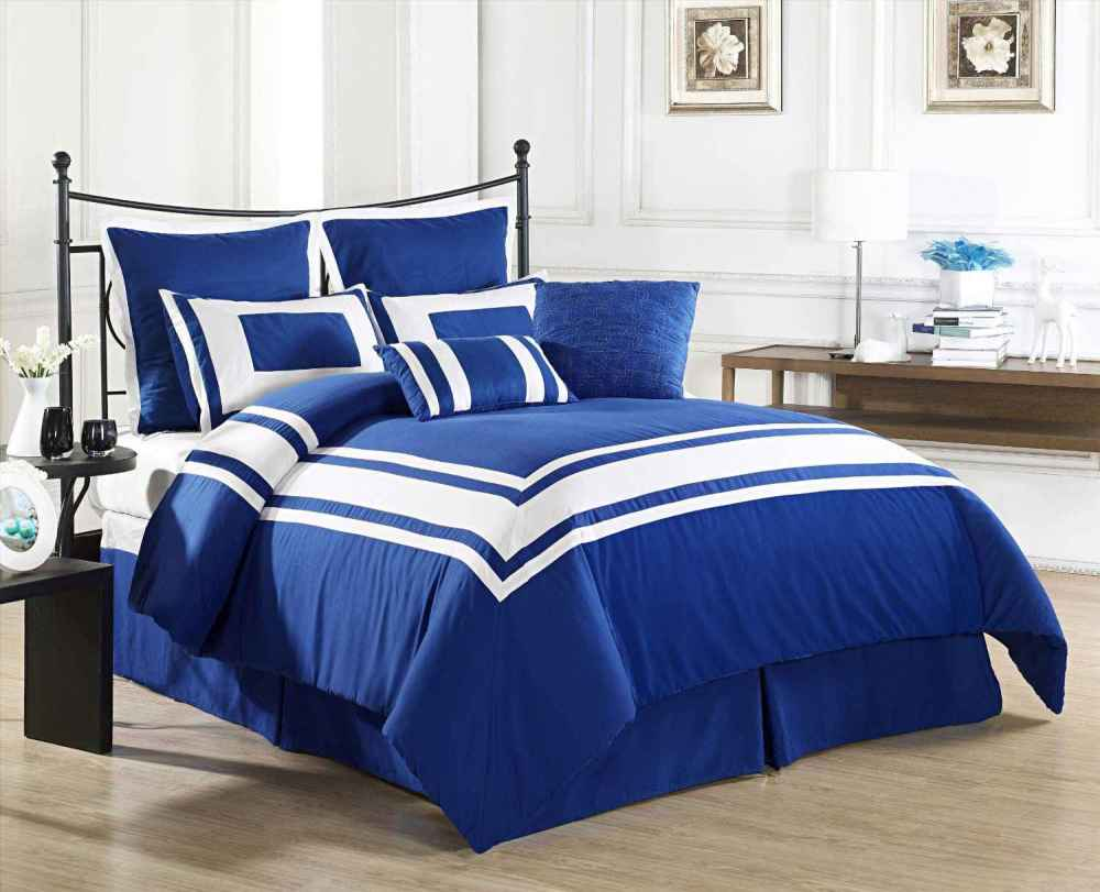 Royal Blue King Comforter Sets