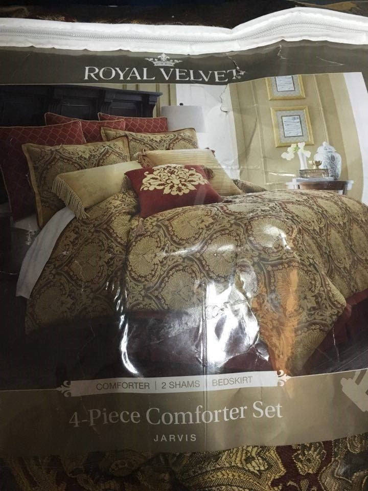 Royal Velvet Comforter Set King