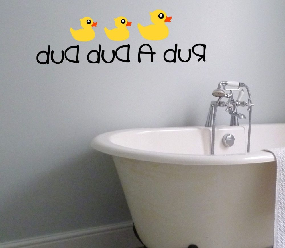 Rubber Duck Wall Decals