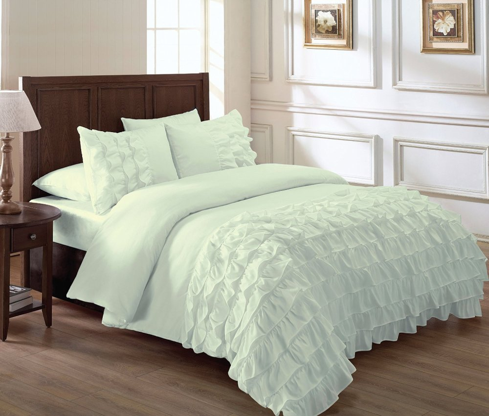 Ruffle Comforter Set King