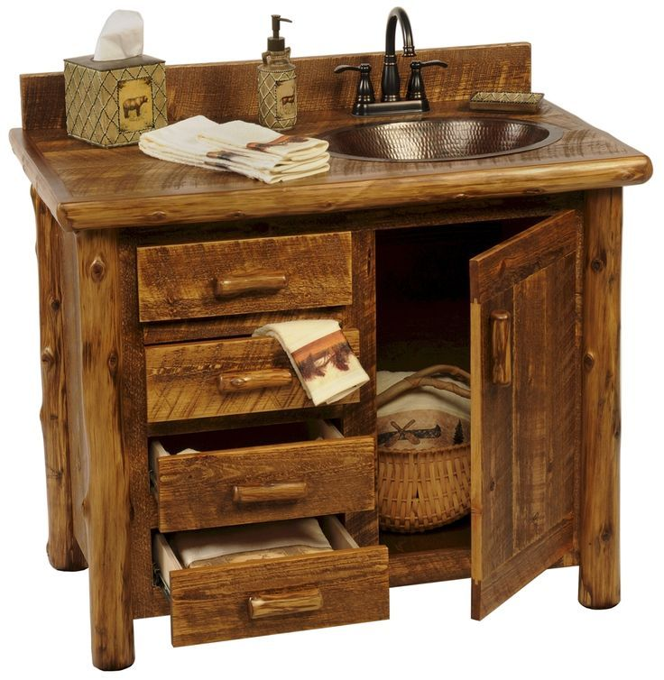 Rustic Bathroom Cabinet Ideas