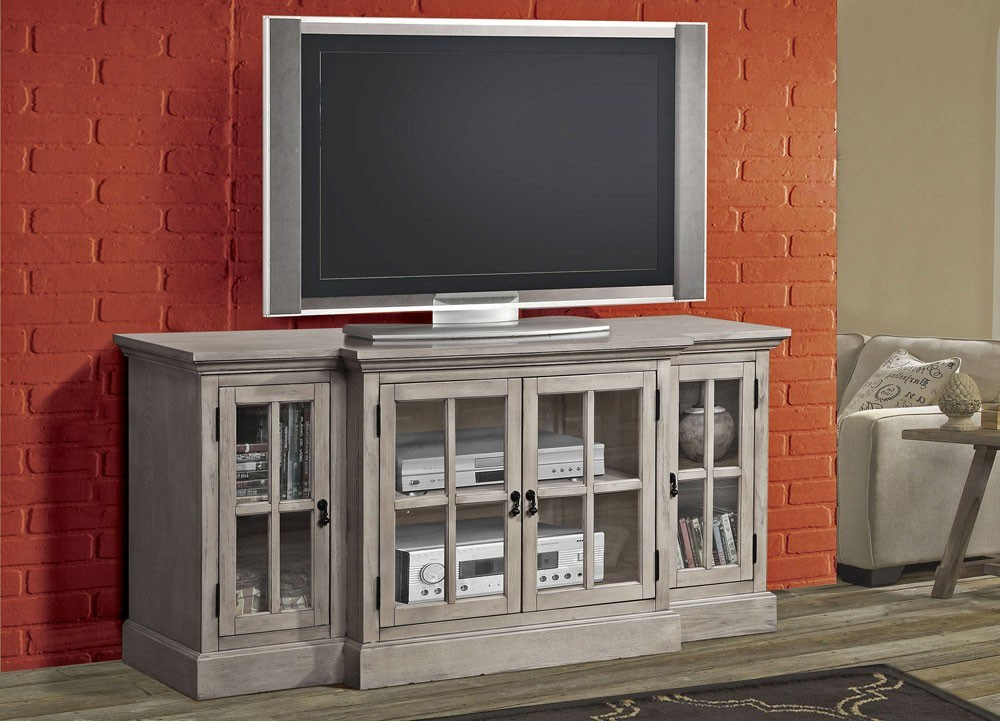 Rustic Grey Tv Stand