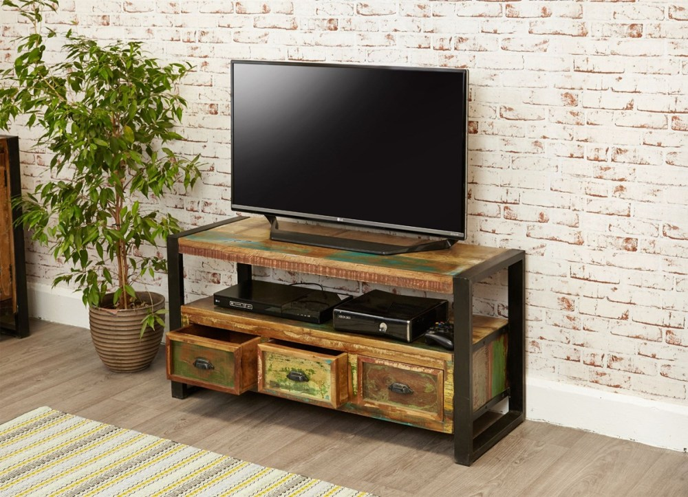 Rustic Industrial Tv Stands