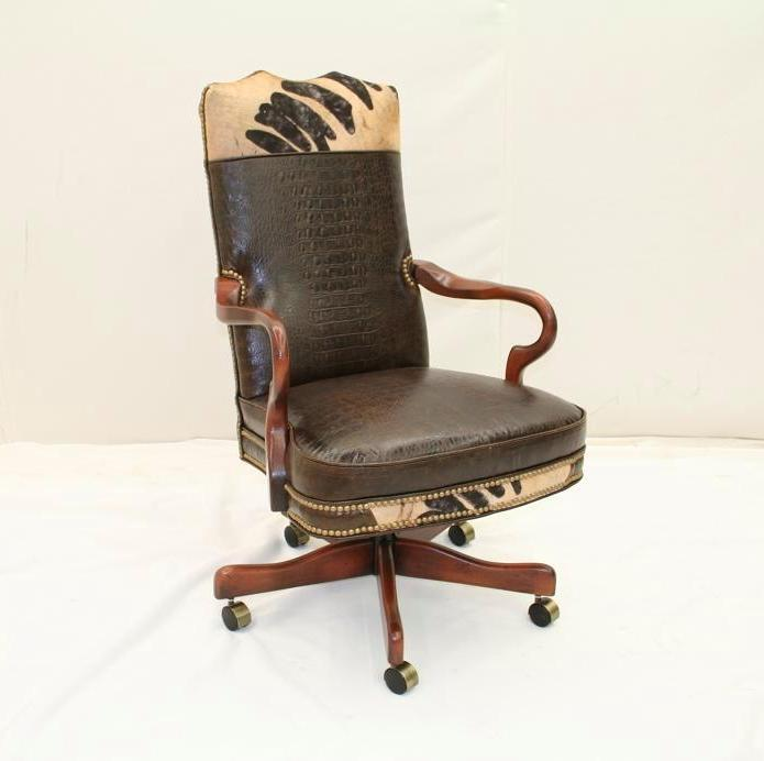 Rustic Office Chair