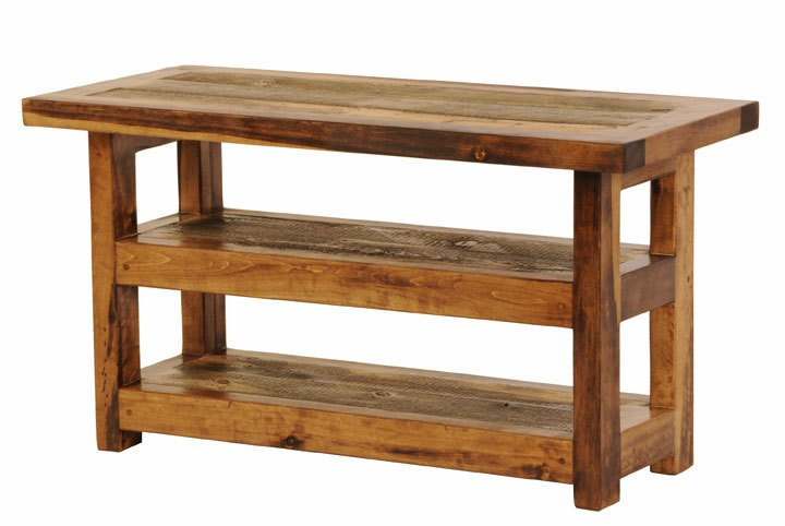 Rustic Wooden Tv Stand