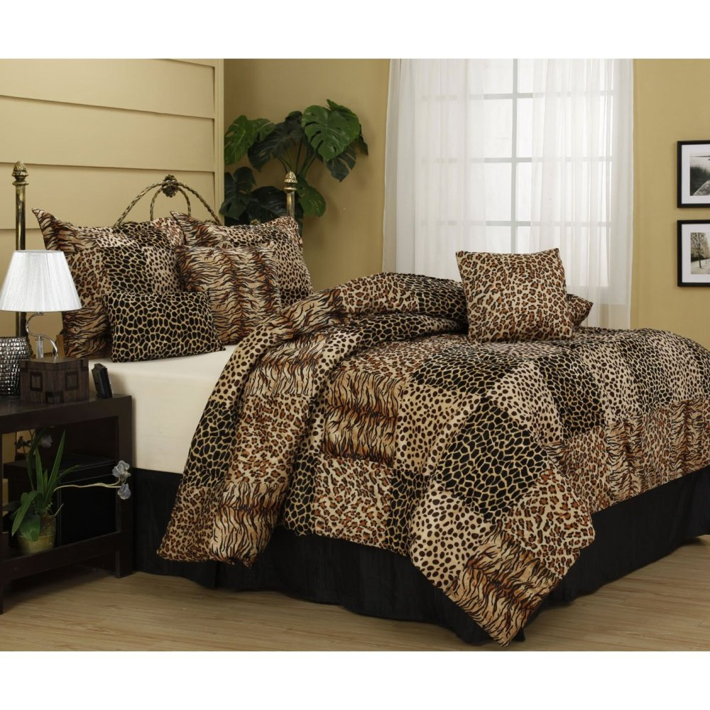 Safari Print Comforter Sets