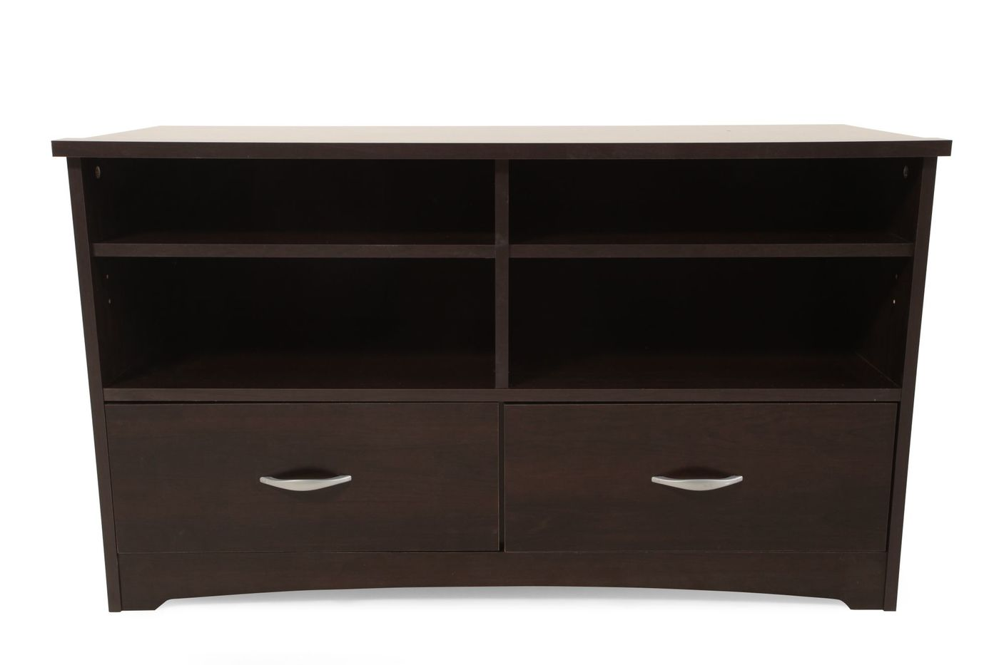 Sauder Beginnings Cinnamon Cherry Tv Stand