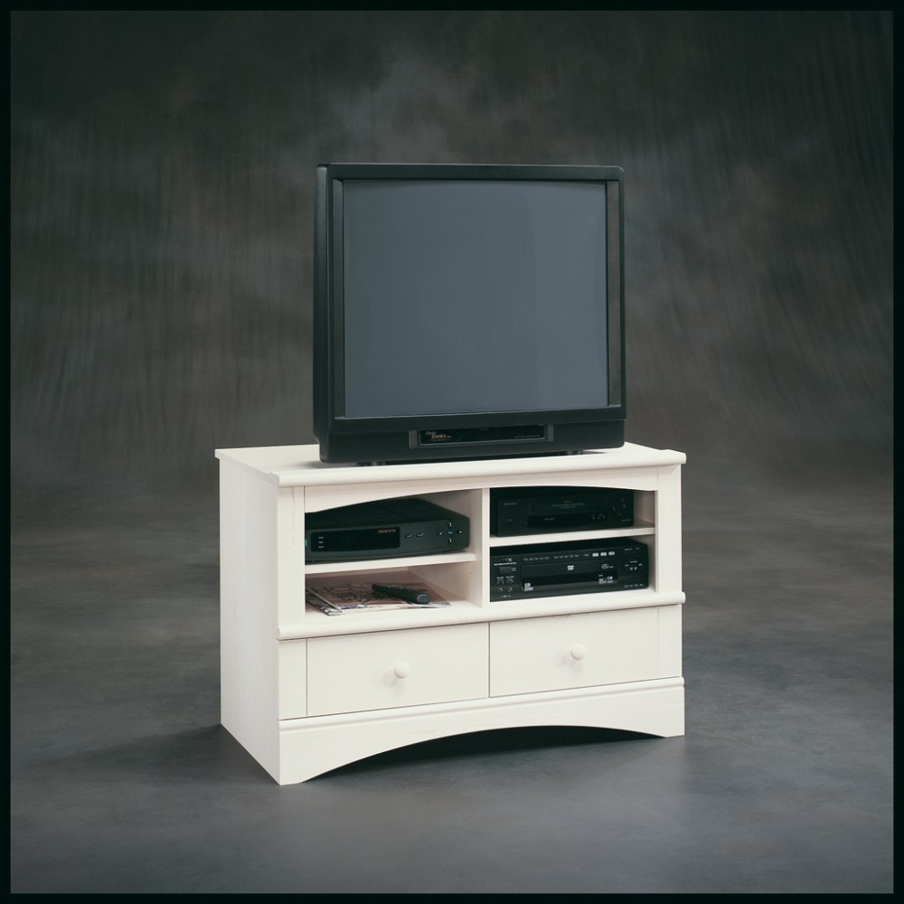 Sauder Harbor View Tv Stand White