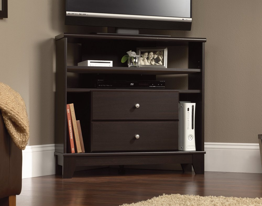 Sauder Palladia Tv Stand For Tv's Up To 50 Cherry Finish
