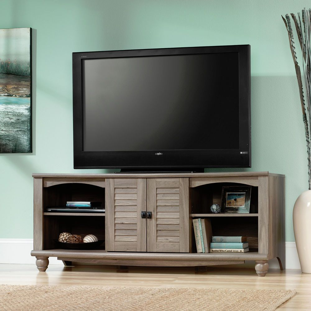 Sauder Tv Stand Salt Oak