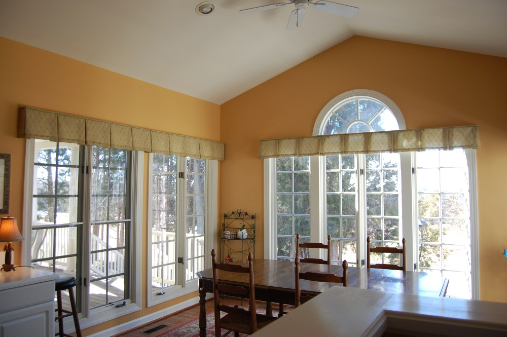 Scalloped Valances For Windows