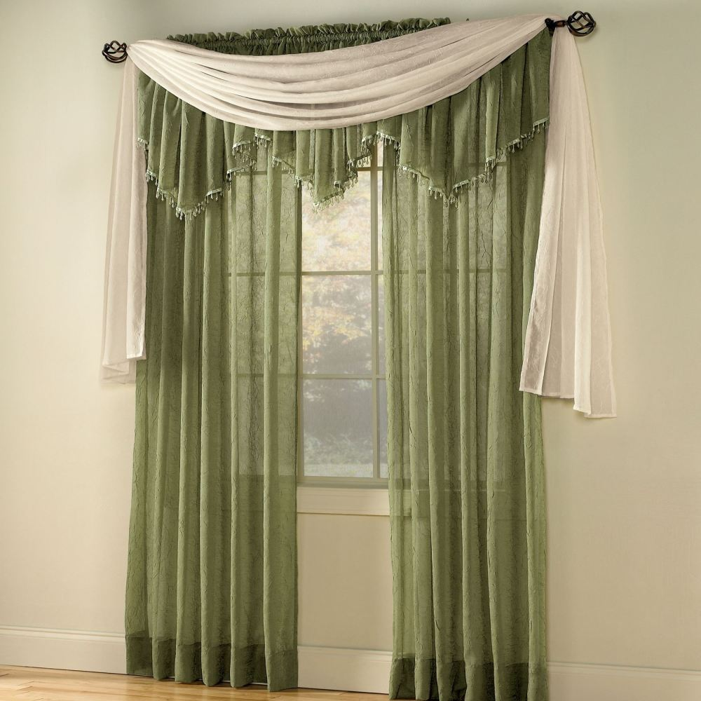 Scarf Valance Curtains
