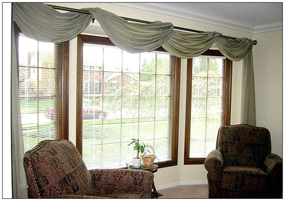 Scarf Valance Window Treatments