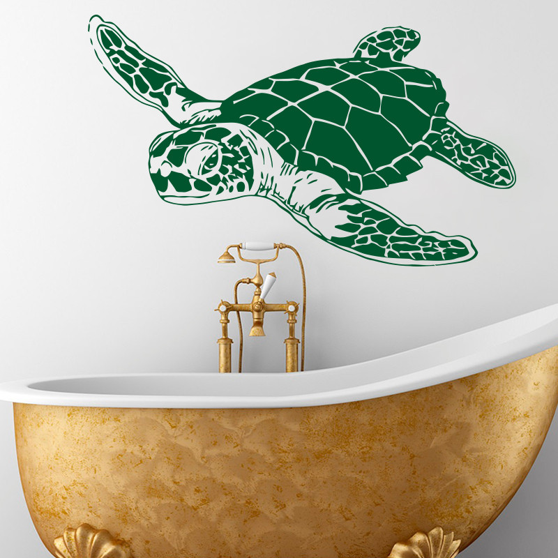 Sea Turtle Wall Decals Removable