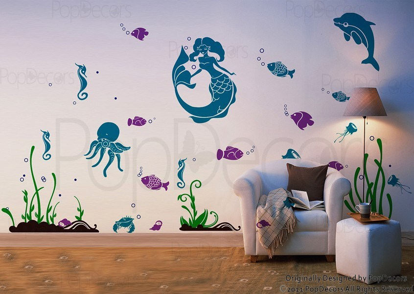 Sea Wall Decals
