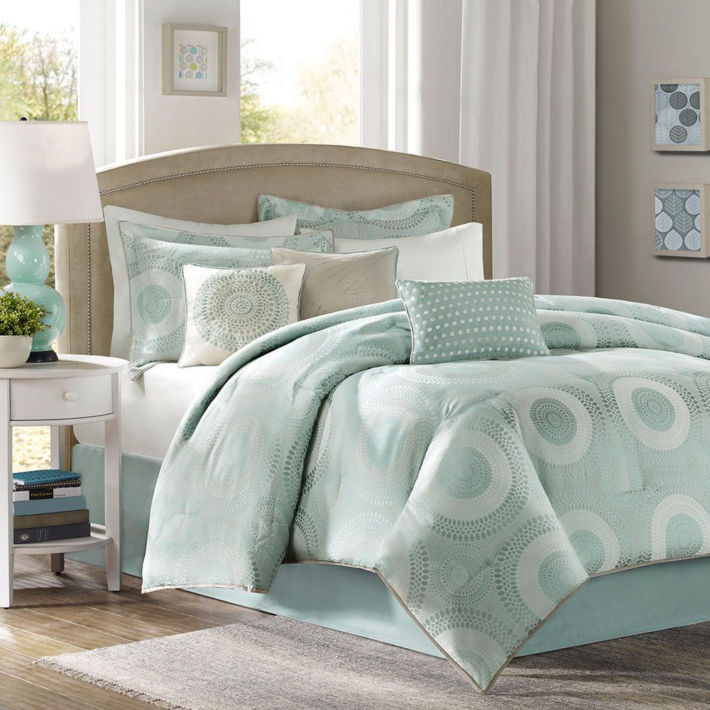 Seafoam Green Comforter Set
