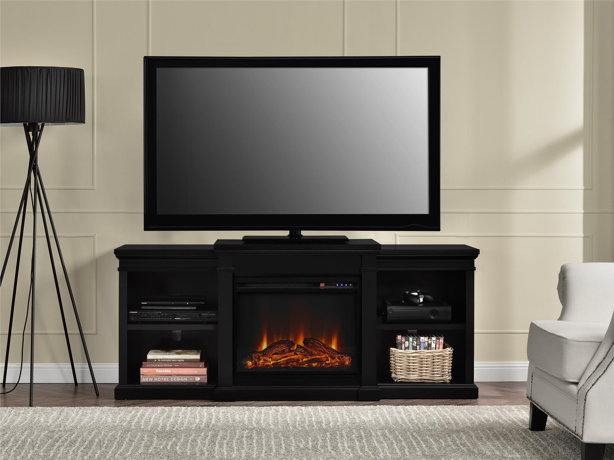 Sears Tv Stand With Fireplace