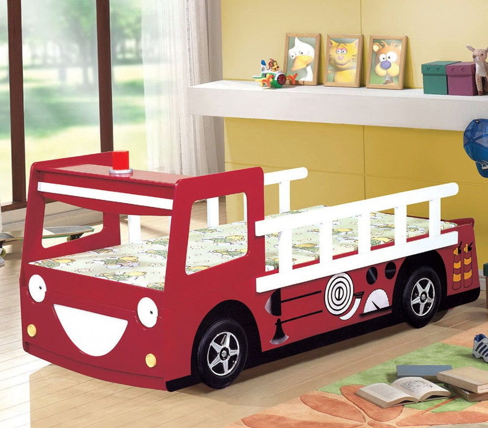 Semi Truck Kids Bed