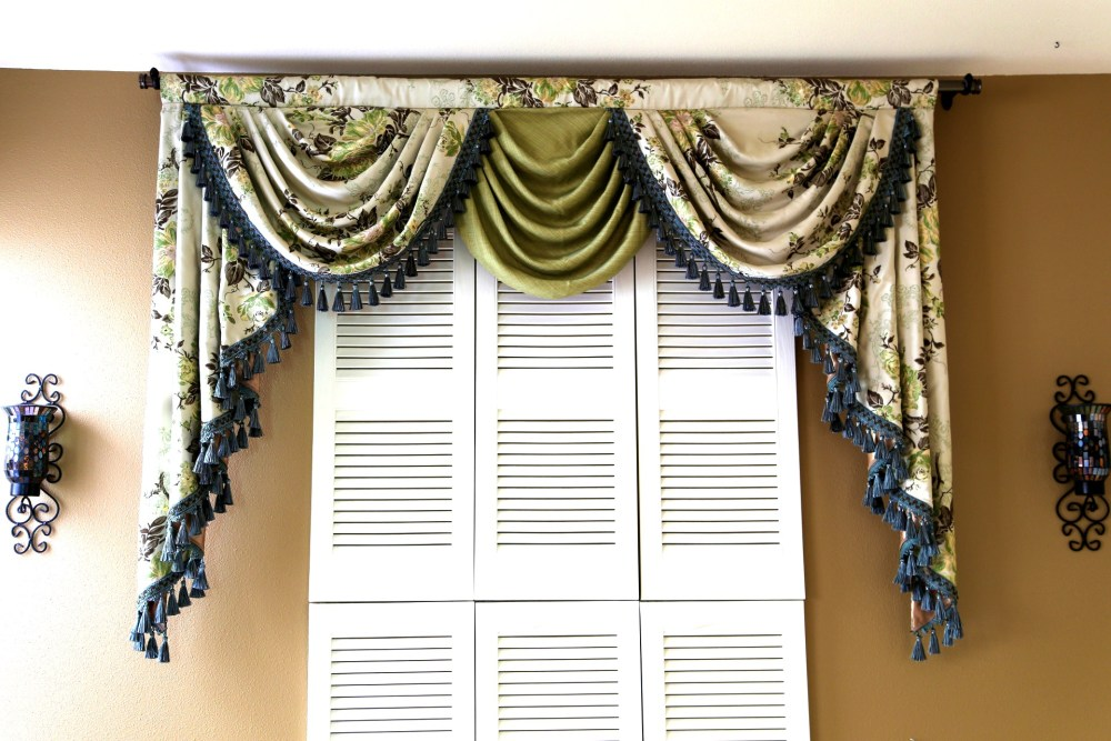 Sewing Valances And Swags