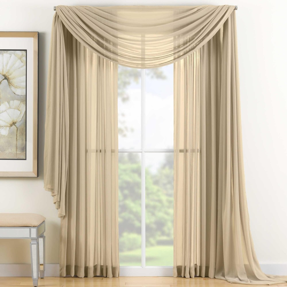 Sheer Scarf Valance