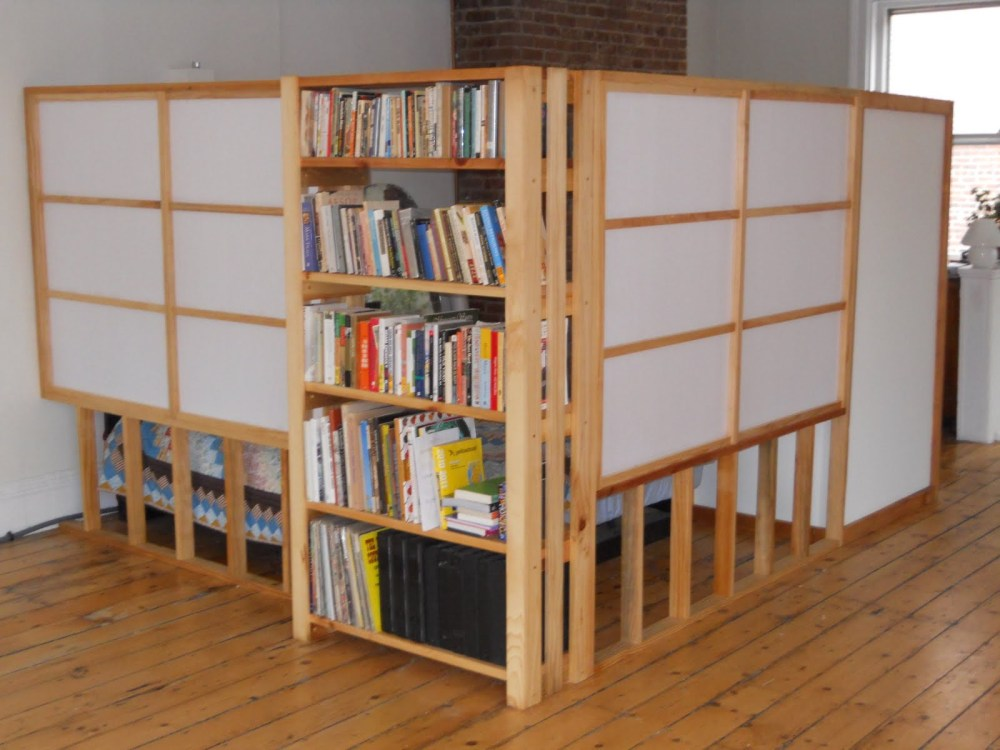 Shelf Room Divider Ideas
