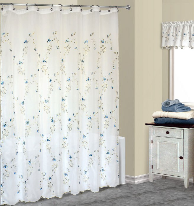 Shower Curtain Sets With Valance