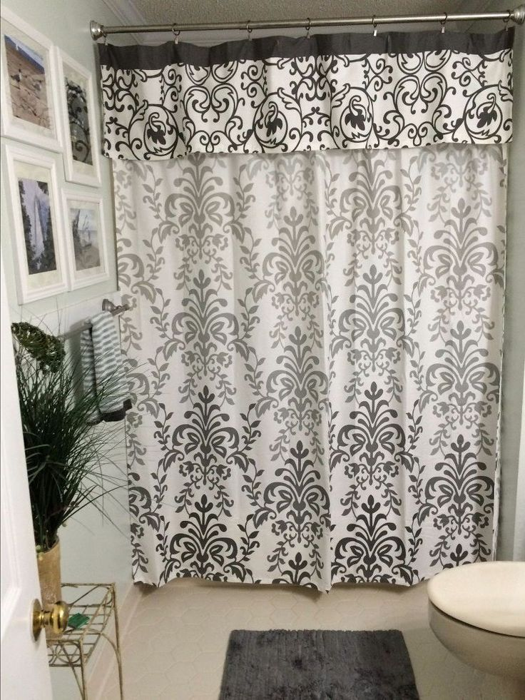 Shower Curtain Valances Ideas